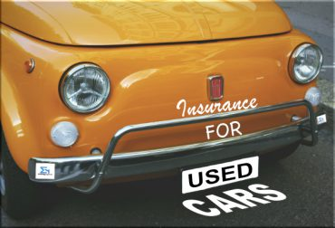 car insurance for used or second hand cars
